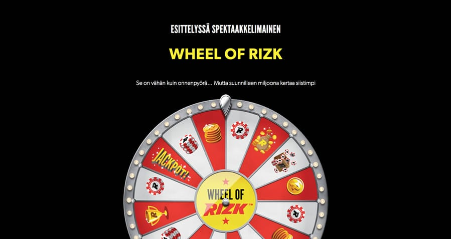 Wheel of Rizk -onnenpyörä