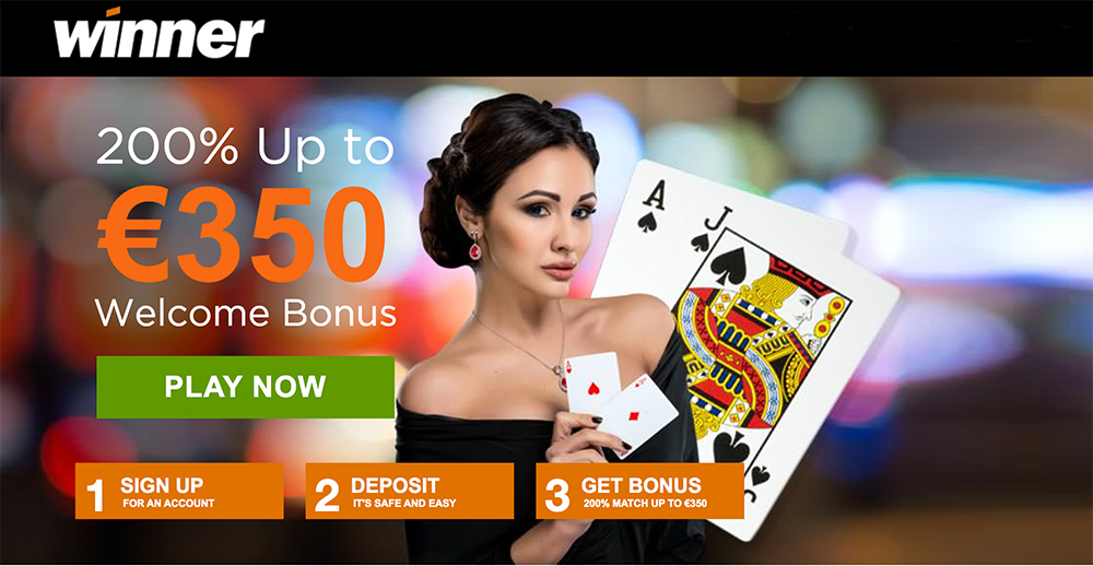 Winner casino 10E ilmaista