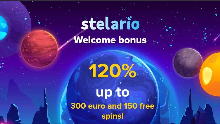 stelario casino bonus