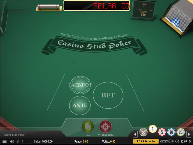 Casino Stud Poker Kasinopeli